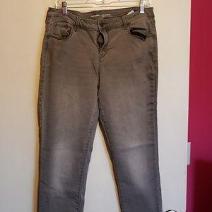 Old Navy Rockstar Jeans mid rise sz 14